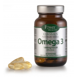 Power Health Classics Platinum - Omega 3, 30s CAPS