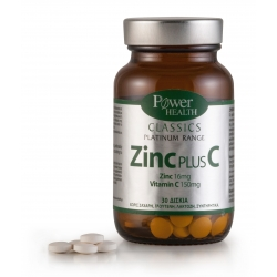Power Health Classics Platinum - Zinc plus C 30s TABS