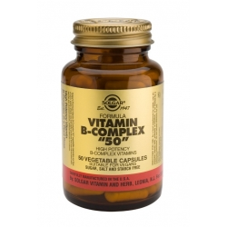 "Solgar Vitamin B-Complex ""50"" 50 vegetable caps"