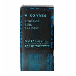 Korres Blue Sage / Lime / Fir Wood 1,69Fl. Oz. 50mL