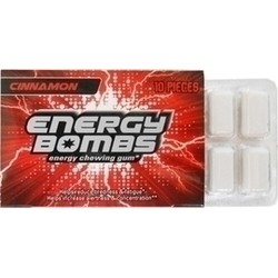Energy Bombs Energy Chewing Gum 10 τμχ Κανέλλα