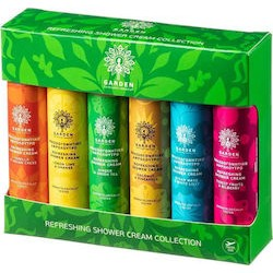 GARDEN - Refreshing Shower Cream Collection | 6x50ml