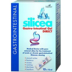 Hubner Silicea Gastro-Intestinal Gel Direct - Γαστρενερικό, 12 x 15ml