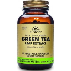 Solgar Green Tea Leaf Extract 60 φυτικές κάψουλεςmenu 0,0