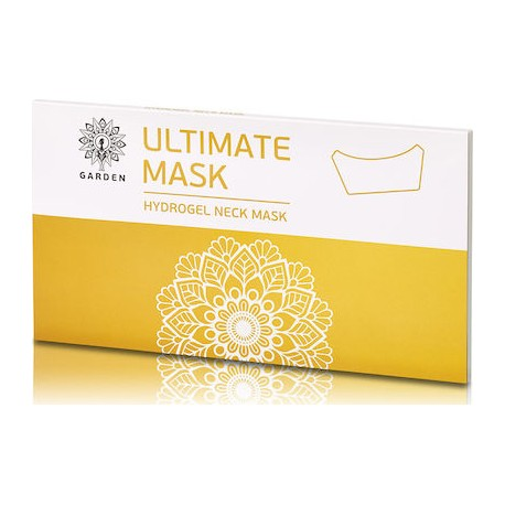 Garden Ultimate Hydrogel Neck Mask Μάσκα Λαιμού Neck Patches 3τμχ